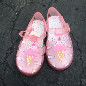 Toddler jelly shoes